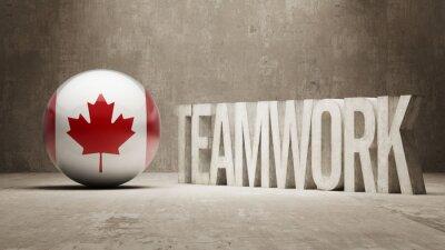 Kanada. Koncepce týmové práce.
