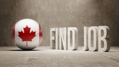 Kanada. Najít Koncepce práce