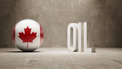 Kanada. Oil Concept.