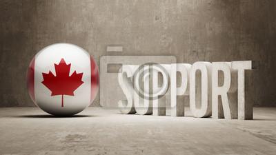 Kanada. Podpora Concept.