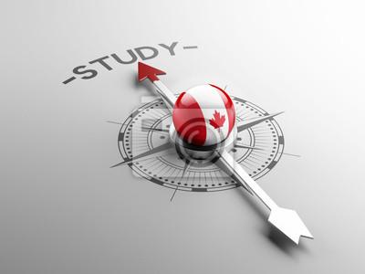 Kanada studie Concept