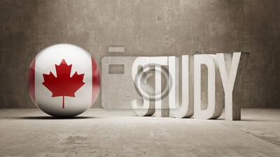 Kanada. Studie Concept.