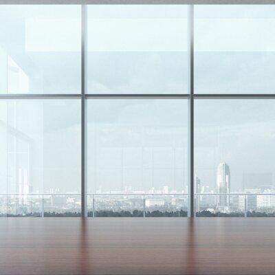 Fototapeta Kancelářský stůl a okno