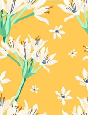 Fototapeta kartwell lilly vintage vzor C
