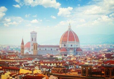 Fototapeta katedrála Santa Maria del Fiore, Florence, Itálie