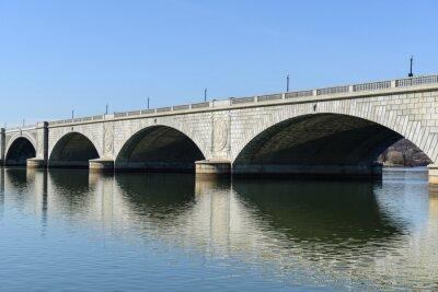 Fototapeta Key Bridge ve Washingtonu DC