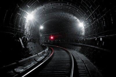 Fototapeta Kiev metro tunel