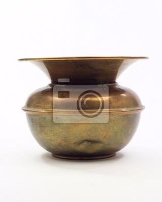 Klasický starý ojetý plivátko fototapeta • fototapety skoal ... 740e6841bb