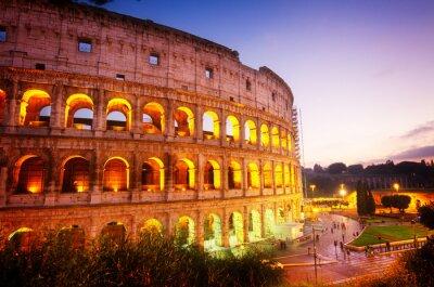 Fototapeta Koloseum v Římě, Itálie