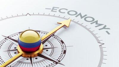 Kolumbie Ekonomika Concept