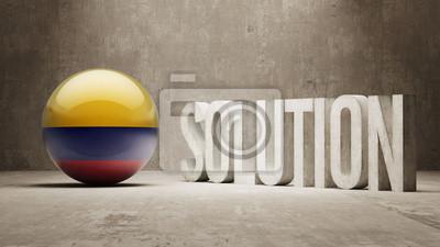 Kolumbie. Solution Concept.