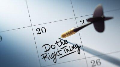 Koncepce obraz z kalendáře se zlatým šipky holí .. Slova
