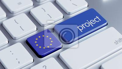 Koncept Evropské unie Project.