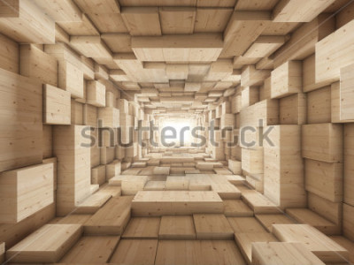 Fototapeta konci tunelu