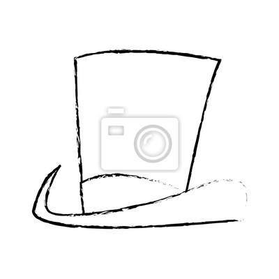 017ed6c3758 Fototapeta Kouzelný klobouk
