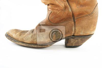 Kovbojské boty detailní fototapeta • fototapety bez sedla e8bca2e3a4