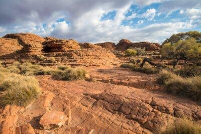 Fototapeta Krajina kaňonu Kings v Northern Territory, Austrálie.