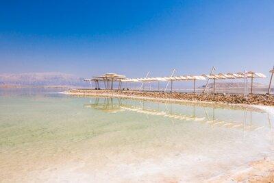 Fototapeta Krajina Mrtvé moře pobřeží