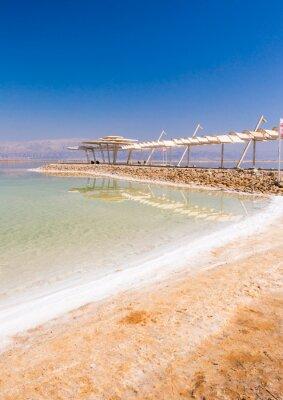 Fototapeta Krajina z Mrtvého moře
