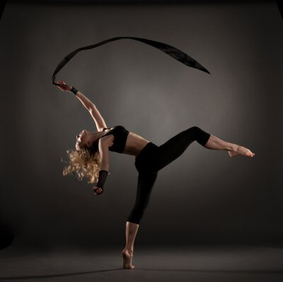 Fototapeta krásná baletkou