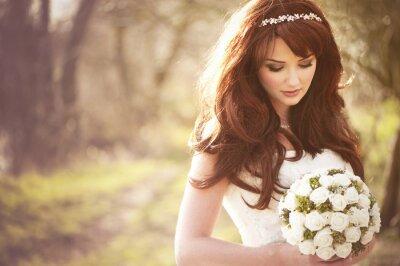 Fototapeta Krásná nevěsta