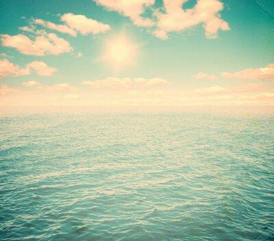 Fototapeta Krásná obloha a modré moře