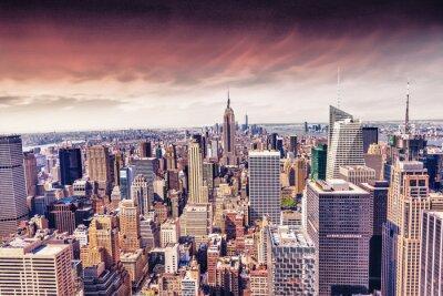 Fototapeta Krásný výhled na panorama New Yorku