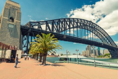 Fototapeta Krásný výhled na Sydney Harbour Bridge