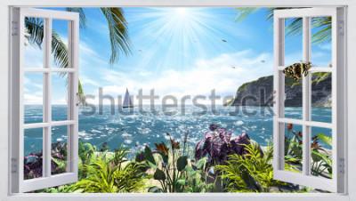 Fototapeta Krásný výhled z okna