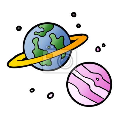 Kreslene Planety Fototapeta Fototapety Ruky Nepredvidatelny