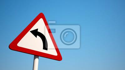 Křivka znamení s ořezovou cestou