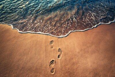 Fototapeta Kroky na pláži