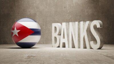 Kuba. Banky Concept