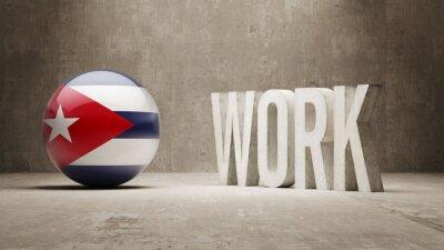 Kuba. Práce koncept.