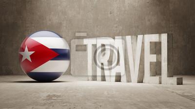 Kuba. Travel Concept.