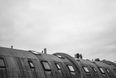 Fototapeta kulatá střecha