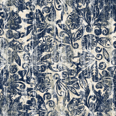 Fototapeta Květinová akvarel textury opakovat moderní vzorek