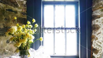 Fototapeta Květiny u okna