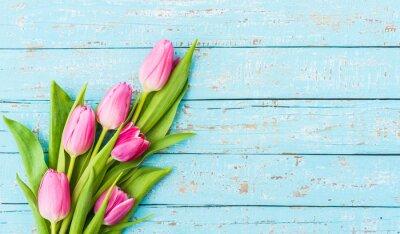 Fototapeta Kytice tulipány Rosa