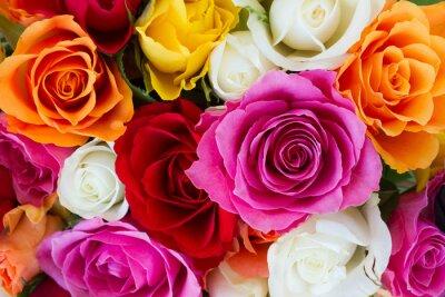 Fototapeta Kytice z čerstvých růží