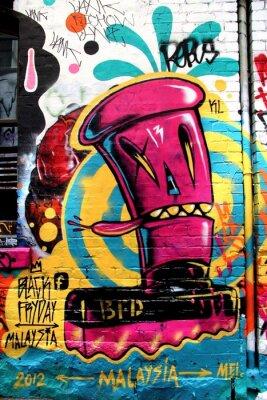 Fototapeta LA ulice, Melbourne