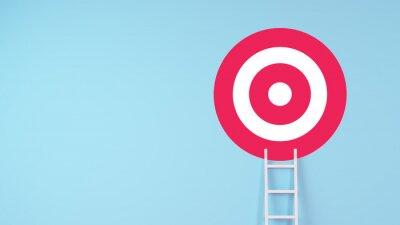 Fototapeta ladder achievement concept