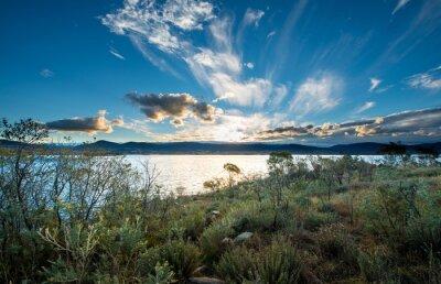 Fototapeta Lake Jindabyne v NSW.