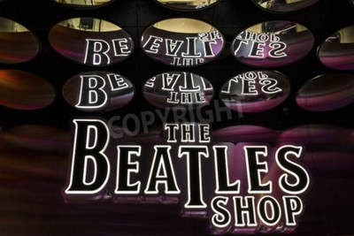 Fototapeta Las Vegas - Circa prosinec 2016: The Beatles Shop na Mirage. Toto je jediná licencovaná prodejna Beatles I