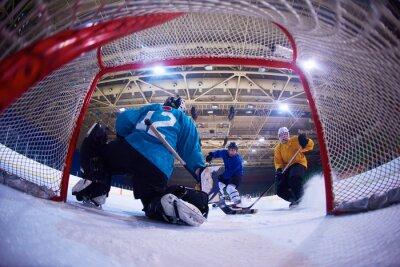 Fototapeta lední hokej brankář