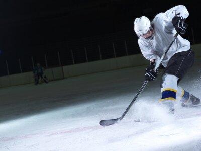 Fototapeta lední hokejista v akci