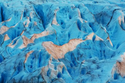 Fototapeta Ledovec v Norsku