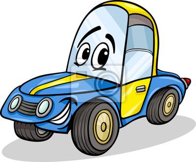 Legracni Zavodni Auto Kreslene Ilustrace Fototapeta Fototapety