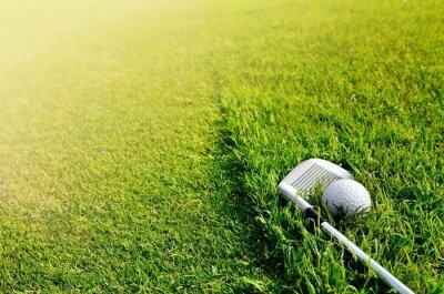 Fototapeta Let's golf