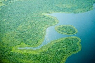 Fototapeta Letecký pohled na Nilu